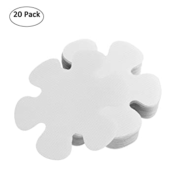 20 PCS Anti Rutsch Sticker Badewanne Dusche, Ø 10 cm PEVA Anti ...