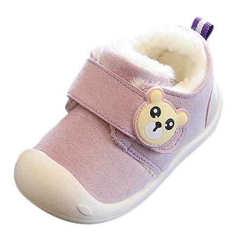 Zapatos de bebé, ASHOP Botines Bebe Chelsea Zapatos niña Invierno Zapatillas Running: Amazon.es: Zapatos y complementos