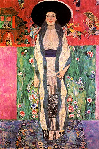 American Gift Services - Gustav Klimt Fine Art Poster Print Portrait of Adele Bloch Bauer II - 24x36