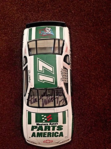 Darrell Waltrip Parts America 1:24 diecast car signed Autograph 25th Anniv - Autographed Diecast Cars