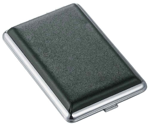 Visol Products Shade Leather Double Sided Cigarette Case