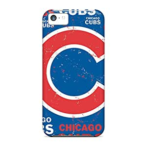 Bumper Hard Phone Cover For Apple Iphone 5c With Allow Personal Design Fashion Chicago Cubs Skin JohnPrimeauMaurice
