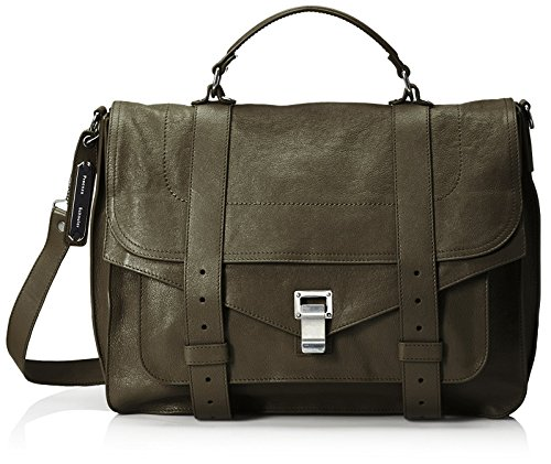 Proenza Schouler Women's PS1 Large Messenger Bag, Military