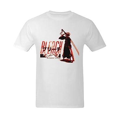 cc88334d Amazon.com: XouAEN Men's Bleach Manga Anime T-shirt Size L: Clothing