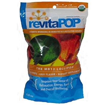 RevitaPOP Methyl B-12 Lollipops 6.0 oz/bag
