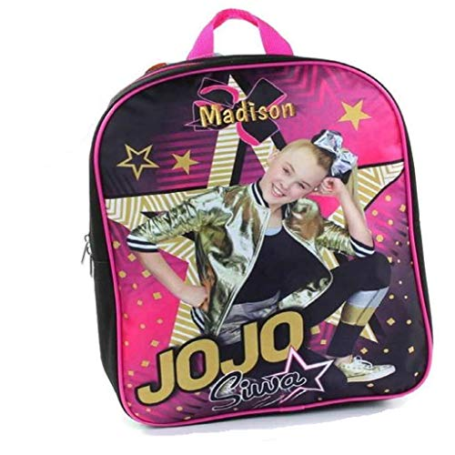Personalized Licensed 15 Inch Character Backpack (JoJo Siwa Backpack - 15 -