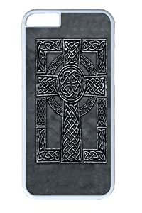 Celtic Cross Polycarbonate Hard Case Cover For Ipod Touch 4 White