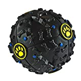 Maven: Tough Dog Training Ball Toy with Sound EMaven Gifts: Tough Dog Training Ball Toy with Sound Effects and Treat Dispenser