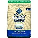 Blue Basics Limited Ingredient Diet Adult Grain Free Duck & Potato Dry Dog Food 22-Lb
