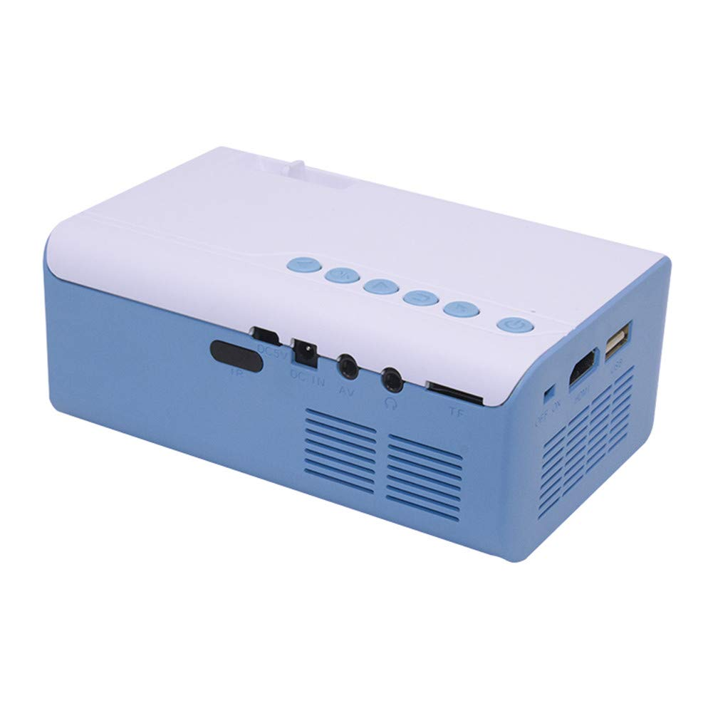 ZXL Mini proyector portátil Multimedia Digital LED Proyector de ...