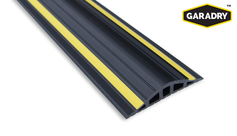 Garadry 1'' Garage Door Threshold Seal Kit RAMP Design 10'3''