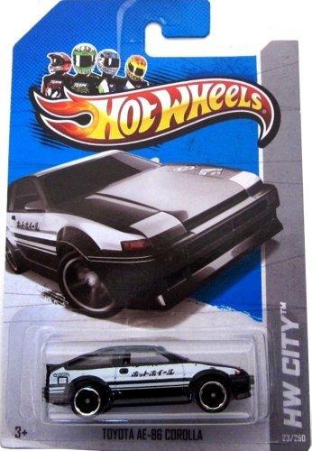 (2013 Hot Wheels (23/250) Toyota AE-86 Corolla)
