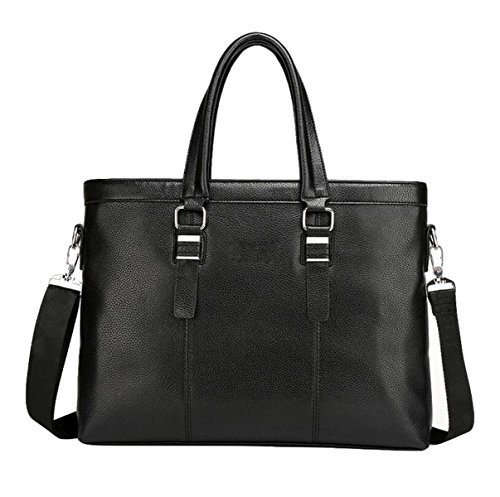 Hombre De Negocios Pack Bolso Bolsa De Hombro Bolsa De Mensajero Bolsa Master Simple Ambiente De Moda Black1