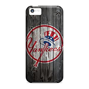 Iphone 5c Cases Bumper Covers For New York Yankees Wooden Hd Accessories