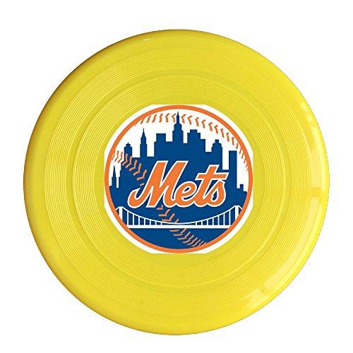 YYHU - Plastic New York Baseball Frisbee Disk/disc - Yellow