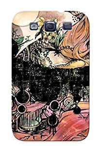 Ellent Design Megurine Luka Phone Case For Galaxy S3 Premium Tpu Case For Thanksgiving Day's Gift by icecream design