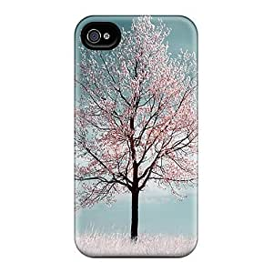 CwihhoP1175QGCos Anti-scratch Case Cover Mialisabblake Cherryblossom Case For Apple Iphone 4/4S Case Cover