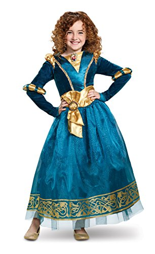 Disney Princess Merida Brave Deluxe Girls'