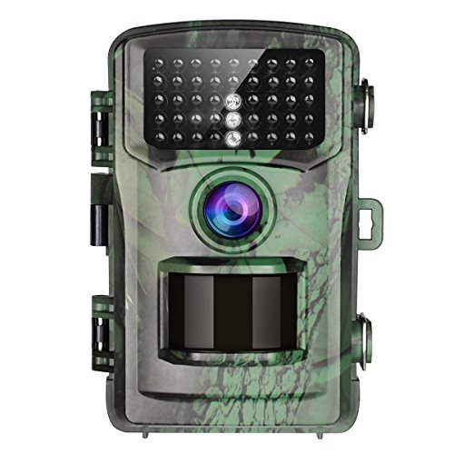 Trail Game Camera, Toguard 12MP 1080P Wildlife Scouting Hunting Camera (Supports Micro SD Card ONLY) with 75ft/22M Infrared Night Vision, PIR Motion Detection, IP56 Waterproof