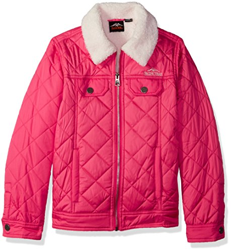 Used, Pacific Trail Big Girls' Quilted Barn Jacket, Watermelon, for sale  Delivered anywhere in USA