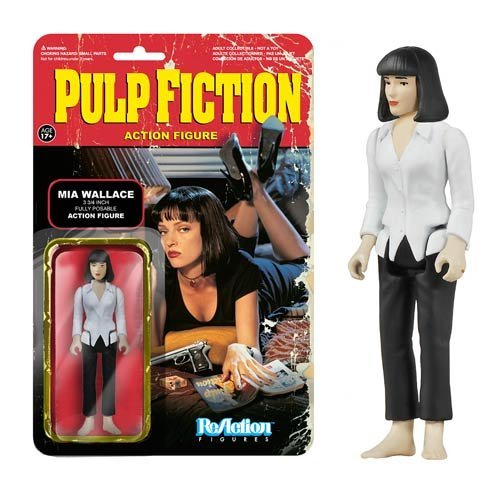 Funko Pulp Fiction Series 1 - Mia Wallace ReAction Figure