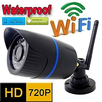 SUNNY-MERCADO ip wifi de la cámara HD 720p de vigilancia de seguridad CCTV exterior