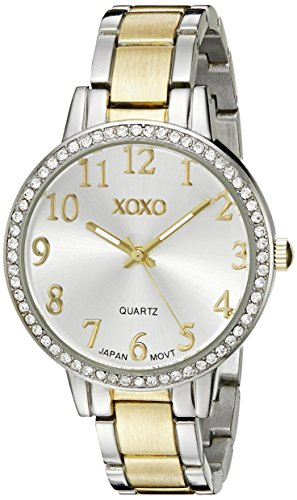 XOXO Women s XO5847 Analog Display Analog Quartz Two Tone Watch