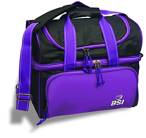 BSI Taxi Single Ball Tote Bag (Black/Purple) (Taxi Equipment)