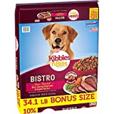 Kibbles 'N Bits Bistro Oven Roasted Beef Flavor Bonus Bag Dry Dog Food, 34.1 Lb Larger Image