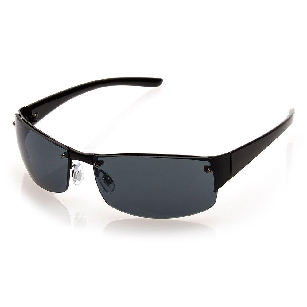 47ec8cbb7b Amazon.com  NYS Collection Eyewear King Street Sunglasses (Black ...