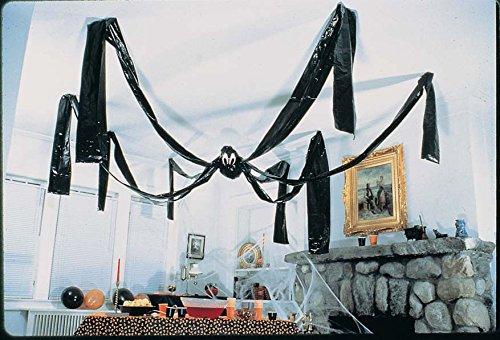 Fun Express Hanging Halloween Plastic Spider, 20 Foot, (Halloween Office)