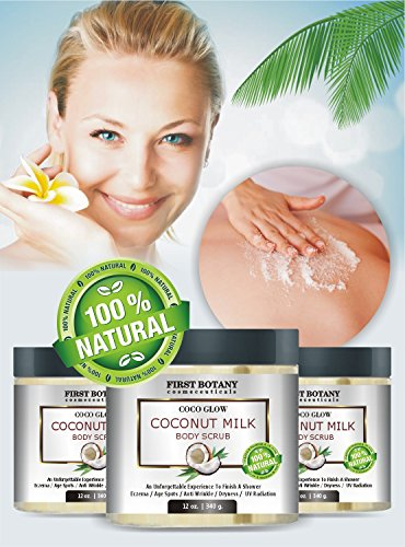100-Natural-Coconut-Milk-Body-Polish-12-oz-With-Dead-Sea-Salt-and-Vitamin-E-Powerful-Body-Scrub-Exfoliator-and-Daily-Moisturizer-For-All-Skin-Types