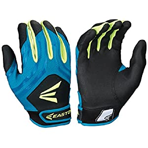 Easton HF3 Fastpitch Gloves, Teal/Green/Black, X-Large