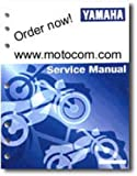 LIT-11626-15-28 2002-2003 Yamaha PW80 Motorcycle Service Manual