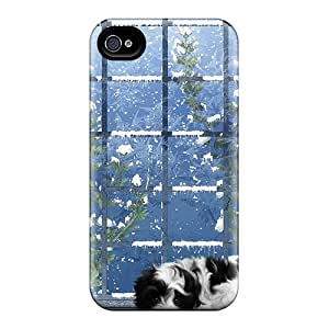 Tpu Shockproof/dirt-proof Winters Lights Cover Case For Iphone(4/4s)