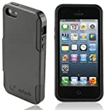Splash Medley Dual Layer Hybrid Case for iPhone 5 - BLACK