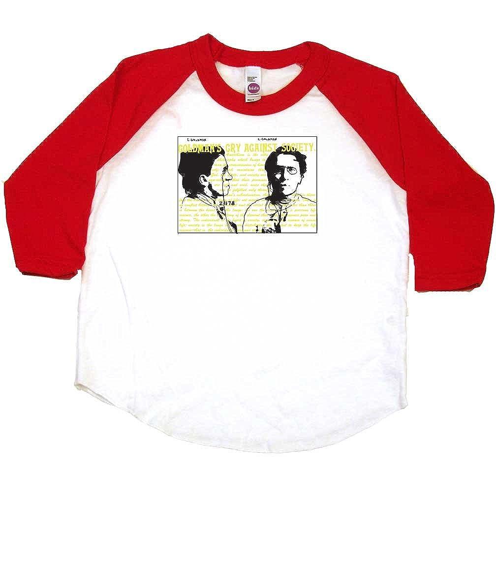 Emma Goldman Alternative Toddler Clothes Anarchist Boy Or Girl T-Shirts