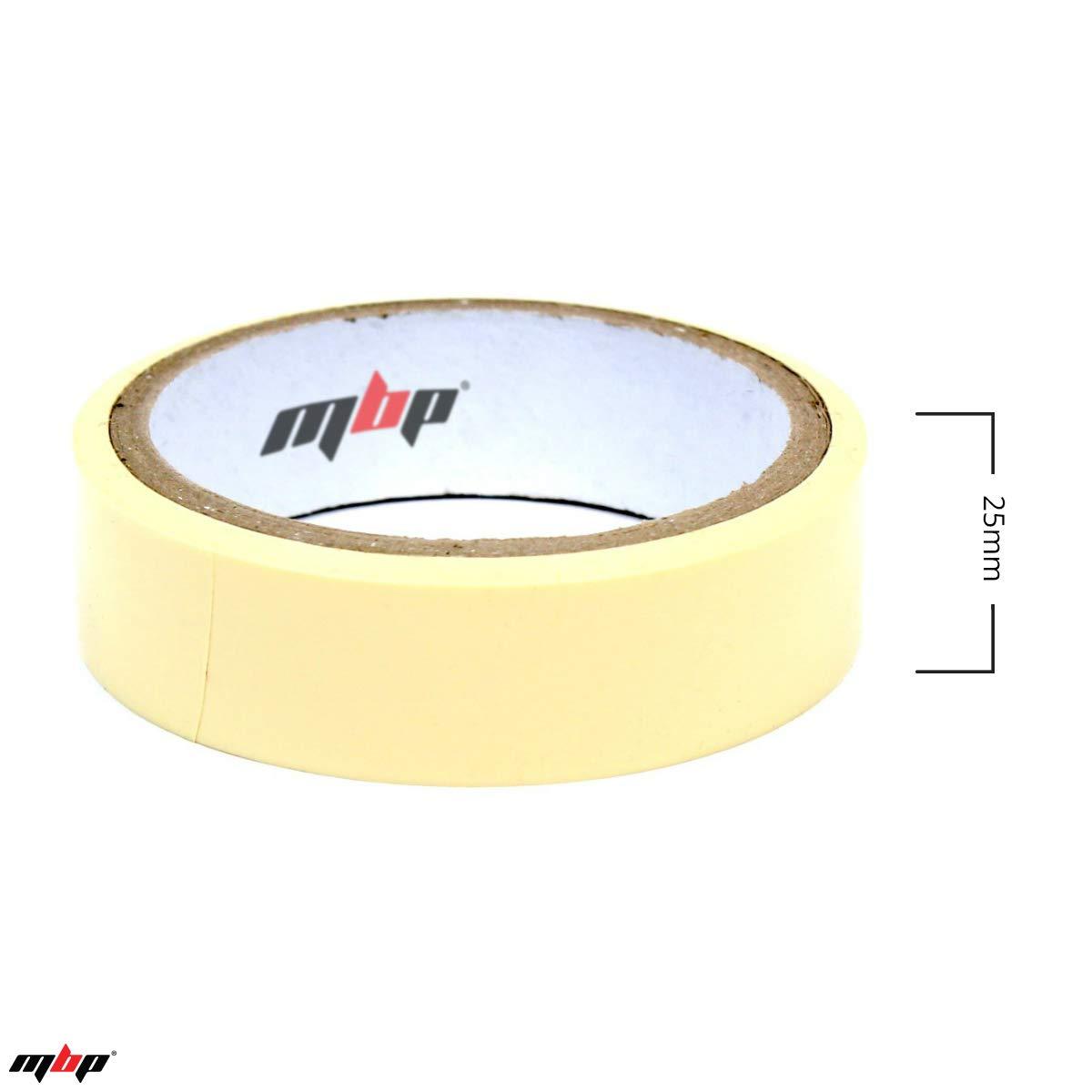 MBP Tubeless Bicycle Rim Spoke Tape (10 Meters x 21mm or 25mm) (25)