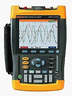 Fluke 199C 199 C 200MHZ Portable Oscilloscope Scopemeter MultiMeter Meter Tester Test Equipment