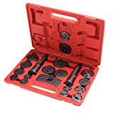 Meditool 21pc Universal Heavy Disc Brake Caliper Piston Compressor Windback Wind Back Pad Tool Set with Carrying Case