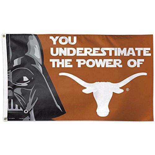 (University of Texas Star Wars Darth Vader 3x5 Deluxe Flag)