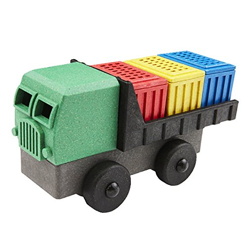 Luke's Toy Factory Eco-Friendly 3-D Puzzle Cargo Truck made in New England