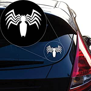 Amazon.com: Yoonek Graphics Spiderman Venom calcomanía de ...