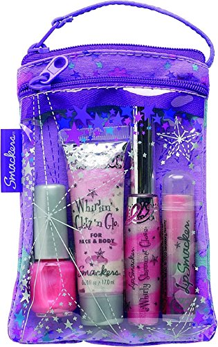 Lip Smackers Cosmetic Bag, Glam It Up Collection 1 ea Pack of 2