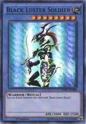 Yu-Gi-Oh! - Black Luster Soldier (DPBC-EN006) - Duelist Pack 16: Battle City - 1st Edition - Super Rare