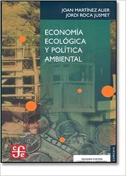 Book Economia Ecologica y Politica Ambiental (Economa)