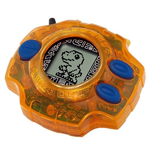 Bandai Digimon 15th Anniversary Digivice - Taichi Orange Color Exclusive Limited by Bandai (Image #1)