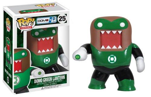 Domo Kun Mascot Costume (Funko Pop Heroes Domo Lantern Vinyl Action Figure, Green)