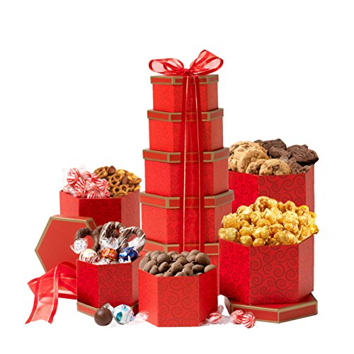 Thinking of You Valentines Day Gift Tower For Her or Him