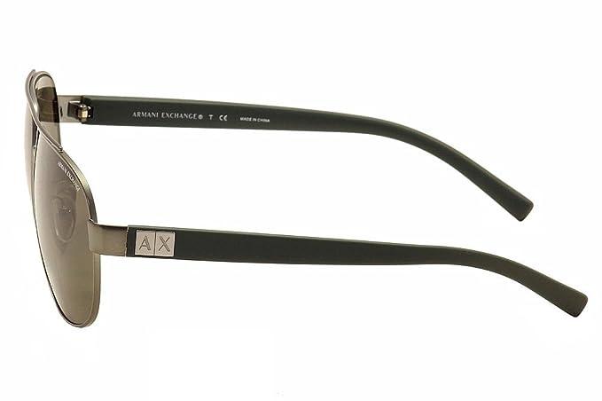Amazon.com: Armani Exchange anteojos de sol Para Hombre ...